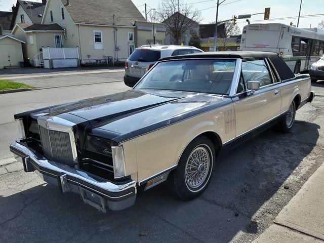 1983 Lincoln MARK VI MARK VI **BILL BLASS Limited Edition**WOW Low Km's