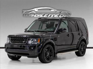 Used 2016 Land Rover LR4 4WD 3.0 SC Navigation, 7 Passenger, Camera, Loaded for sale in Concord, ON