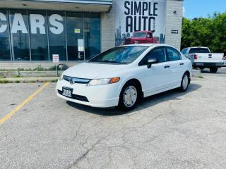 Used 2008 Honda Civic 4dr Auto DX-G for sale in Barrie, ON