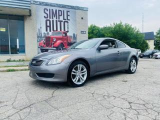 Used 2010 Infiniti G37 X 2dr for sale in Barrie, ON