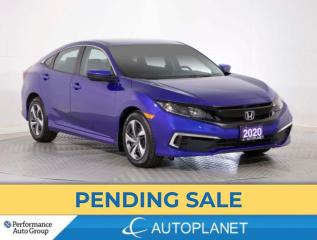 Used 2020 Honda Civic LX, Back Up Cam, Bluetooth,Adaptive Cruise Control for sale in Brampton, ON