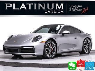 Used 2020 Porsche 911 Carrera 4S, AWD 443HP, NAV, CAM, SPORTS CHRONO, BT for sale in Toronto, ON