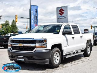 Used 2017 Chevrolet Silverado 1500 Crew Cab 4x4 ~Trailer Tow ~Camera ~ONLY 13,000 KM! for sale in Barrie, ON