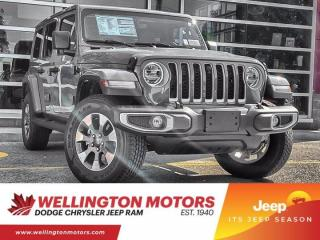 New 2021 Jeep Wrangler Unlimited Sahara for sale in Guelph, ON
