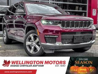 New 2021 Jeep Grand Cherokee L Limited for sale in Guelph, ON