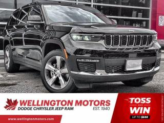 New 2021 Jeep Grand Cherokee L Limited | 4x4 | Warranty | Demo for sale in Guelph, ON