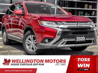 Used 2020 Mitsubishi Outlander EX | Low Km | AWD | Clean CarFax for sale in Guelph, ON