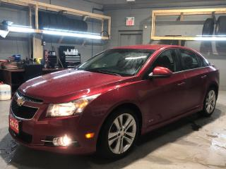Used 2012 Chevrolet Cruze * Cruise Control * Steering Wheel Controls * Hands Free Calling * On Star * AM/FM/SXM/USB/Aux * Automatic Headlights * Fog Lights * Keyless Entry * Ma for sale in Cambridge, ON