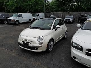 Used 2015 Fiat 500 Lounge for sale in Sarnia, ON