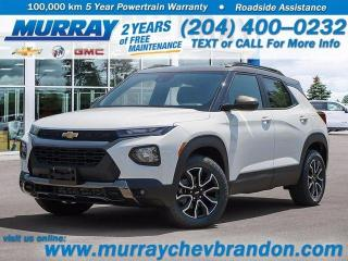 New 2021 Chevrolet TrailBlazer Heated Seats, Bluetooth, AWD, Lane Keep Assist for sale in Brandon, MB