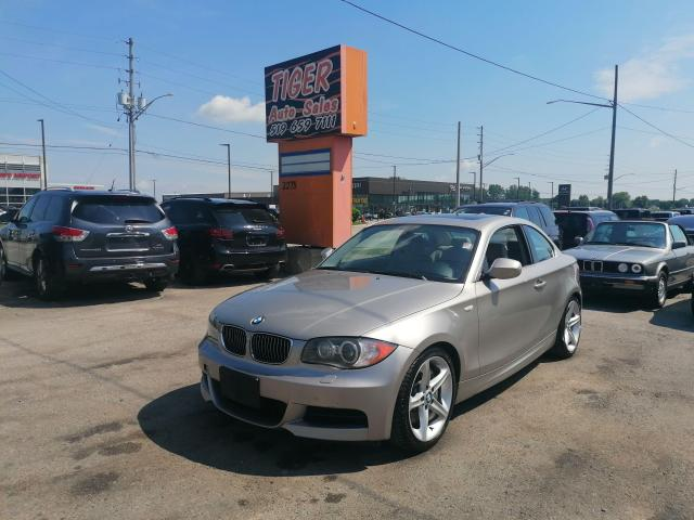 2011 BMW 1 Series 135i*COUPE*AUTO*TURBO*ROOF*LEATHER*125KMS