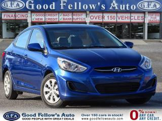 Used 2016 Hyundai Accent SE MODEL, BLUETOOTH, HEATED SEATS, 1.6L 4CYL for sale in Toronto, ON
