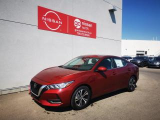 New 2021 Nissan Sentra SV/AWD/PANO ROOF/PUSH START/HEATED STEERING/BLIND SPOT for sale in Edmonton, AB