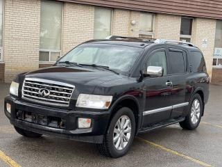 Used 2008 Infiniti QX56 TECH PKG 4X4 NAVIGATION/REAR CAMERA/DVD/7 PASS for sale in North York, ON