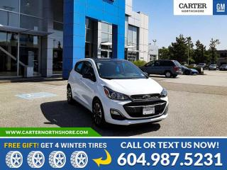 New 2021 Chevrolet Spark 1LT CVT BLUETOOTH - REAR VIEW CAMERA - SPOILER for sale in North Vancouver, BC