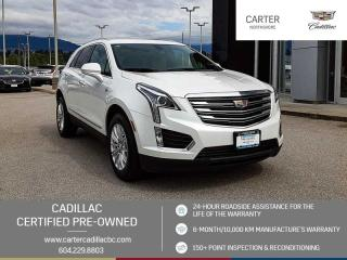 Used 2017 Cadillac XT5 ONSTAR NAV - LEATHER - WIRELESS CHARGING for sale in North Vancouver, BC