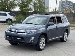 Used 2013 Toyota Highlander Hybrid Limited Navigation /Sunroof /7Pass/Camera for sale in North York, ON