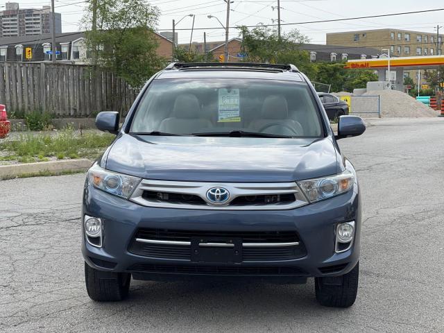 2013 Toyota Highlander Hybrid Limited Navigation /Sunroof /7Pass/Camera Photo2