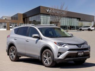 Used 2018 Toyota RAV4 XLE | Toyota Safety Sense | Sunroof | Power Liftgate | for sale in Winnipeg, MB