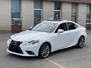 Used 2014 Lexus IS 250 Premium  AWD Leather/Sunroof/Rear Camera for sale in North York, ON
