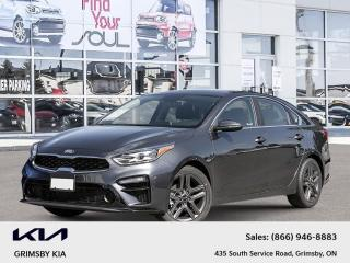 New 2021 Kia Forte EX+ Sunroof | Backup Cam | Blindspot Detect for sale in Grimsby, ON