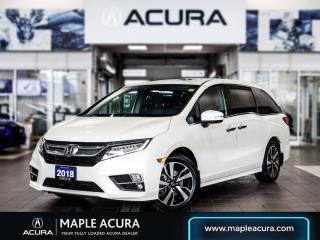 Used 2018 Honda Odyssey Touring, One owner, No Accidents for sale in Maple, ON