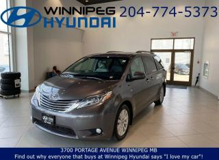 Used 2017 Toyota Sienna XLE - 8 Passenger capacity, Bluetooth for sale in Winnipeg, MB