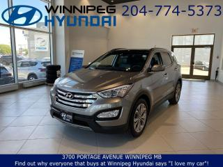 Used 2015 Hyundai Santa Fe LIMITED - Drive mode select, Keyless entry, Bluetooth for sale in Winnipeg, MB
