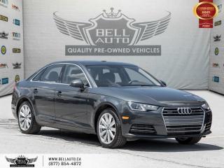 Used 2017 Audi A4 Komfort, AWD, B.spot, SunRoof, NoAccident, MemoSeats, PushStart for sale in Toronto, ON