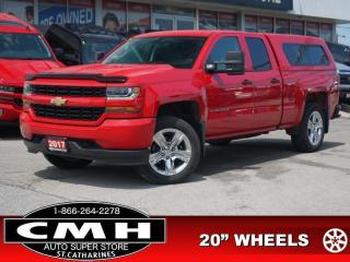 Used 2017 Chevrolet Silverado 1500 Custom  CAM TOW-PKG 20-AL for sale in St. Catharines, ON