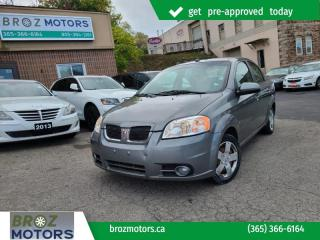 Used 2009 Pontiac G3 Wave 4dr Sdn SE for sale in St. Catharines, ON