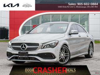 Used 2018 Mercedes-Benz CLA-Class 250 $99.68 Week // Nav / Roof / Cam / NO Accidents for sale in Mississauga, ON