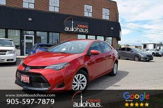 Used 2017 Toyota Corolla LE I LANE DEPART I COLL. ASSIST I CAMERA for sale in Concord, ON