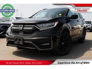 Used 2020 Honda CR-V Black Edition | CVT | Navigation for sale in Whitby, ON