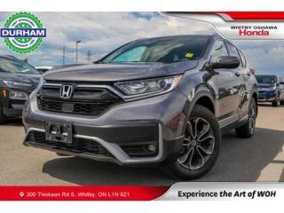 Used 2021 Honda CR-V EX-L | CVT | Power Moonroof for sale in Whitby, ON
