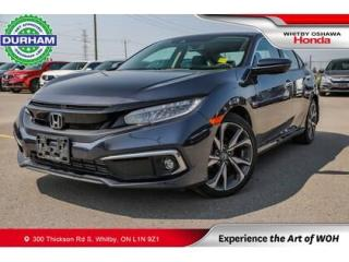 Used 2020 Honda Civic Touring | CVT | Navigation for sale in Whitby, ON