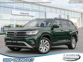 New 2021 Volkswagen Atlas 3.6 FSI Highline 4Motion w/Navigation - Free Snow Tires for sale in PORT HOPE, ON