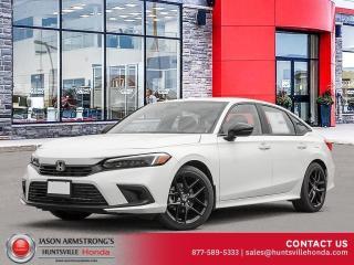 New 2022 Honda Civic Sport for sale in Huntsville, ON
