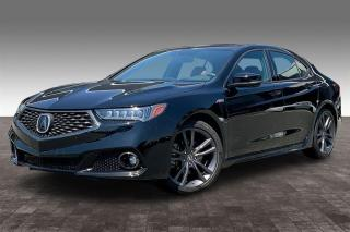 Used 2019 Acura TLX 3.5L SH-AWD w/Tech Pkg A-Spec Red for sale in Langley, BC