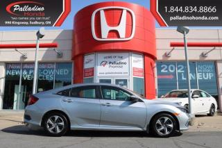 Used 2019 Honda Civic Sedan LX - NEW FRONT PADS AND ROTORS - for sale in Sudbury, ON