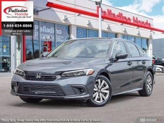 New 2022 Honda Civic SEDAN LX for sale in Sudbury, ON