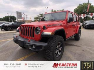 New 2021 Jeep Wrangler Unlimited Rubicon | Removeable Hard Top | for sale in Winnipeg, MB