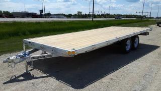 New 2021 Stronghaul Trailer 20' Aluminum Deck Over Car hauler for sale in Elie, MB