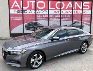 Used 2018 Honda Accord EX-L-ALL CREDIT ACCEPTED for sale in Toronto, ON