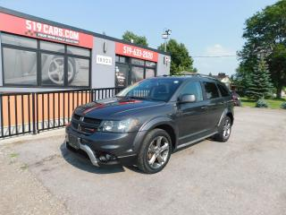 Used 2016 Dodge Journey Crossroad|Navi|DVD|Leather|Sunroof for sale in St. Thomas, ON