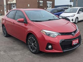 Used 2016 Toyota Corolla S for sale in Waterloo, ON