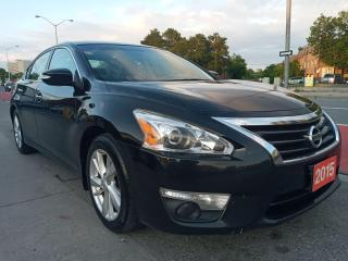 Used 2015 Nissan Altima LEATHER-SUNROOF-NAVI-BK CAM-BLUETOOTH-AUX-ALLOYS for sale in Scarborough, ON
