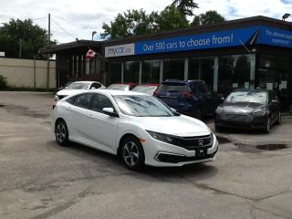Used 2021 Honda Civic LX HEATED SEATS, BACKUP CAM, APPLE CARPLAY!! for sale in North Bay, ON