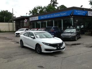 Used 2021 Honda Civic EX SUNROOF, PWR HEATED SEAT, ALLOYS, APPLE CAR PLAY!! for sale in North Bay, ON