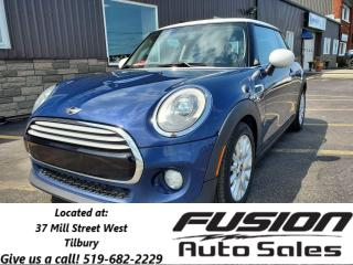 Used 2015 MINI Cooper 1 OWNER OFF LEASE-LEATHER-SUNROOF for sale in Tilbury, ON
